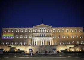Athens Pride: Η Βουλή φωταγωγείται με τα χρώματα του ουράνιου τόξου - Κεντρική Εικόνα
