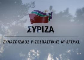 Μολότοφ στα γραφεία του ΣΥΡΙΖΑ στην Κουμουνδούρου - Κεντρική Εικόνα