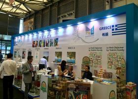Έντονο ήταν το ενδιαφέρον για τα ελληνικά προϊόντα στην 20η Διεθνή Έκθεση SIAL CHINA 2019 - Κεντρική Εικόνα