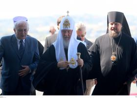 Μια εικόνα του Παλαμά έδωσε ο Άνθιμος στον Πατριάρχη Μόσχας - Κεντρική Εικόνα