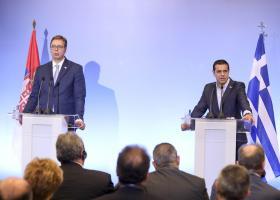 Τσίπρας: Αναβαθμίζεται η στρατηγική συνεργασία Ελλάδας - Σερβίας σε μία κρίσιμη περίοδο - Κεντρική Εικόνα
