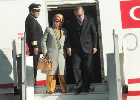 Λόγω αδιαθεσίας της ακυρώθηκε το πρόγραμμά της Εμινέ Ερντογάν  - Κεντρική Εικόνα