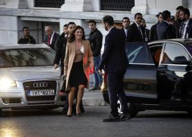 Η Μπέττυ Μπαζιάνα επισκέφθηκε την Εμινέ Ερντογάν στο ξενοδοχείο που διαμένει - Κεντρική Εικόνα