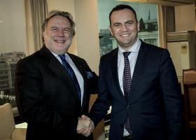 Η οικονομική συνεργασία Ελλάδας-πΓΔΜ στη συνάντηση Κατρούγκαλου - Οσμάνι - Κεντρική Εικόνα