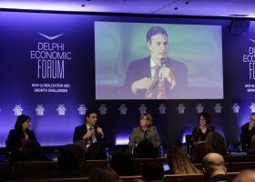 Οικονομικό Φόρουμ Δελφών:  Τι λένε οι εκπρόσωποι ξένων επενδυτικών κεφαλαίων και νομικών εταιρειών - Κεντρική Εικόνα