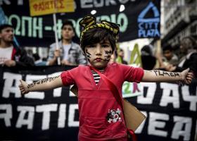 Μαζική η συμμετοχή στο αντιρατσιστικό συλλαλητήριο - Κεντρική Εικόνα