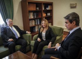 Ολοκληρώθηκε η συνάντηση της Φ. Γεννηματά με τον Ν. Κοτζιά για τα Σκόπια - Κεντρική Εικόνα