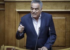 Σφοδρή αντιπαράθεση Σκουρλέτη - Γεωργιάδη στη Βουλή - Κεντρική Εικόνα