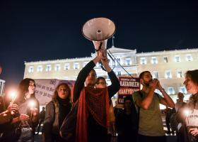 Μαζική η διαδήλωση για τον θάνατο του Ζακ Κωστόπουλου - Κεντρική Εικόνα