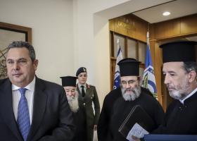 O Καμμένος στο πλευρό των ιερέων για τη συμφωνία Τσίπρα- Ιερώνυμου - Κεντρική Εικόνα
