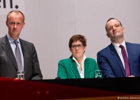 H ακτινογραφία των τριών φαβορί της CDU - Κεντρική Εικόνα