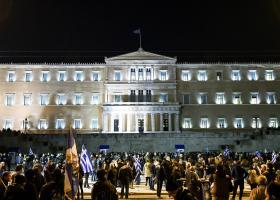 Συγκεντρώσεις στο κέντρο της Αθήνας κατά της Συμφωνίας των Πρεσπών - Κλειστοί οι δρόμοι - Κεντρική Εικόνα