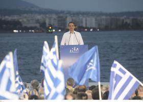 Μητσοτάκης: Την Κυριακή η Ελλάδα θα γίνει μπλε - Κεντρική Εικόνα