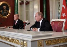 Έτοιμοι για συνεργασία στην αμυντική βιομηχανία δηλώνουν Πούτιν-Ερντογάν - Κεντρική Εικόνα