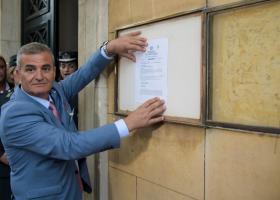 Θυροκολλήθηκε το Προεδρικό Διάταγμα διάλυσης της Βουλής - Κεντρική Εικόνα