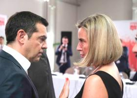 Συνάντηση Τσίπρα-Μογκερίνι για τις παράνομες δραστηριότητες της Τουρκίας στην Κυπριακή ΑΟΖ - Κεντρική Εικόνα