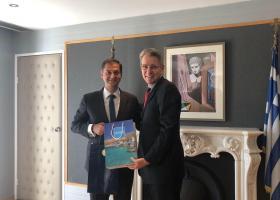 Οι τουριστικές σχέσεις Ελλάδας - ΗΠΑ στη συνάντηση Θεοχάρη-Πάιατ - Κεντρική Εικόνα