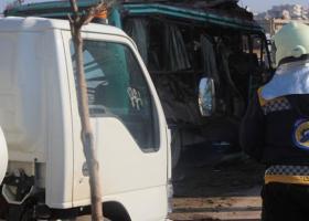 Αφρίν: 3 νεκροί από την έκρηξη βόμβας σε λεωφορείο - Κεντρική Εικόνα