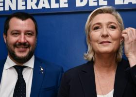Συνάντηση Λεπέν-Σαλβίνι στα μέσα Μαΐου ενόψει των ευρωεκλογών - Κεντρική Εικόνα