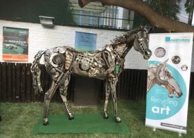 Το άλογο της... ανακύκλωσης - Κεντρική Εικόνα