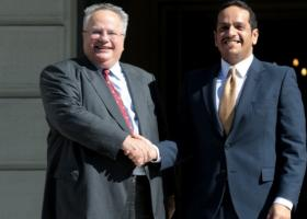 Αμοιβαία βούληση ενίσχυσης της συνεργασίας Ελλάδας-Κατάρ - Κεντρική Εικόνα
