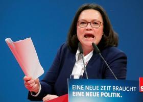 Γερμανία: Την παραίτησή της στο προεδρείο του SPD υπέβαλε η Αντρέα Νάλες - Κεντρική Εικόνα