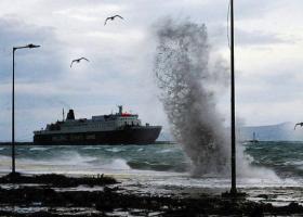 Προβλήματα στις ακτοπλοϊκές συγκοινωνίες λόγω ισχυρών ανέμων στο Αιγαίο - Κεντρική Εικόνα