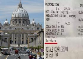 Ρώμη: Πήγαν για χοτ-ντογκ και βγήκαν... κουρεμένοι - Ο «αλμυρός» λογαριασμός (Photo) - Κεντρική Εικόνα