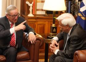 Πρόσκληση Γιούνκερ σε Παυλόπουλο να επισκεφθεί τις Βρυξέλλες - Κεντρική Εικόνα