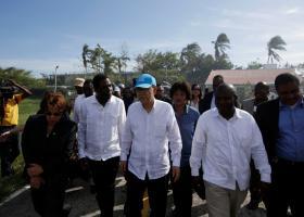 «Απόλυτη καταστροφή» είδε στην Αϊτή ο ΓΓ του ΟΗΕ - Κεντρική Εικόνα