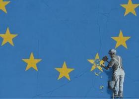 Εξαφανίστηκε γνωστό έργο του Banksy για το Brexit - Κεντρική Εικόνα