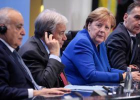 Διάσκεψη Βερολίνου: Συμφωνία κατάπαυσης του πυρός και τήρησης του εμπάργκο όπλων - Κεντρική Εικόνα