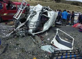 Βολιβία: Φονική σύγκρουση λεωφορείων με 17 νεκρούς - Κεντρική Εικόνα