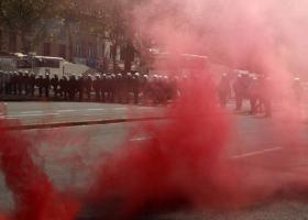 «Θέατρο» βίαιων συγκρούσεων το κέντρο των Βρυξελλών - Κεντρική Εικόνα
