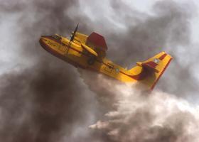 Δύο αεροπλάνα από την Ελλάδα βοηθούν στην κατάσβεση μεγάλης πυρκαγιάς στην Κύπρο  - Κεντρική Εικόνα