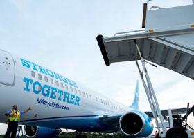 Το προεκλογικό Boeing της Χίλαρι Κλίντον (Βίντεο) - Κεντρική Εικόνα