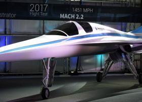 Nέο αεροσκάφος θα κάνει Λονδίνο-Νέα Υόρκη σε 3 ώρες και 15 λεπτά (photos+video)  - Κεντρική Εικόνα