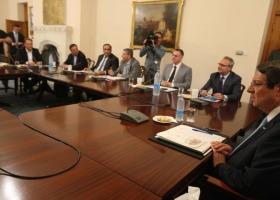 Κύπρος: Εθνικό Συμβούλιο ενόψει της συνάντησης Αναστασιάδη-Ακιντζί - Κεντρική Εικόνα