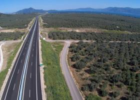 Παράδοση σε κυκλοφορία του Αυτοκινητοδρόμου Ε65, τμήμα Ξυνιάδα - Τρίκαλα - Κεντρική Εικόνα