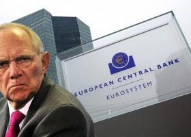 Σόιμπλε και Γερμανοί τραπεζίτες κατά πολιτικής χαμηλών επιτοκίων της ΕΚΤ  - Κεντρική Εικόνα