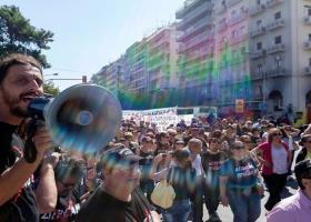 Πορεία για τον θάνατο του Ζακ Κωστόπουλου στην Θεσσαλονίκη - Κεντρική Εικόνα