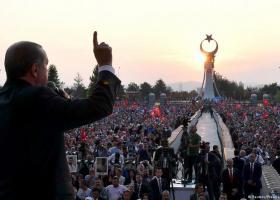 Ερντογάν: Κανείς δεν μπορεί να γονατίσει την Τουρκία - Κεντρική Εικόνα
