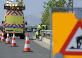 Αποκλεισμός της κυκλοφορίας στην εθνική οδό Αθηνών – Θεσσαλονίκης - Κεντρική Εικόνα