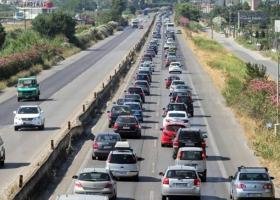 Έκλεισε το τμήμα της Εθνικής Οδού Θεσσαλονίκης-Μουδανιών - Κεντρική Εικόνα