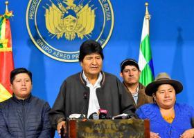 Βολιβία: Δεν έχει εκδοθεί ένταλμα σύλληψης για τον παραιτηθέντα Μοράλες - Κεντρική Εικόνα