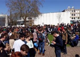 Γαλλία: Έληξε, με επέμβαση των δυνάμεων της τάξης, η κατάληψη πανεπιστημιακών σχολών και κτρίων στο Νανσί και στο Μετς - Κεντρική Εικόνα