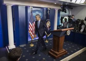 Ο Ομπάμα έφυγε από το Οβάλ Γραφείο - Το ζεύγος Τραμπ παρακολούθησε λειτουργία - Κεντρική Εικόνα