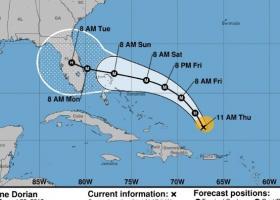Σε κατάσταση έκτακτης ανάγκης η Φλόριντα από τον κυκλώνα Ντόρια - Κεντρική Εικόνα