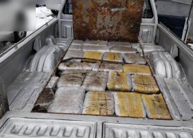 Φλώρινα: Έκρυβαν 60 κιλά κάνναβη σε καρότσα αγροτικού - Κεντρική Εικόνα