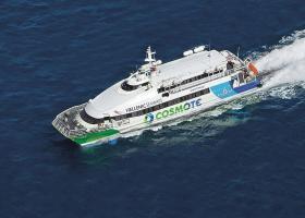 Σύγκρουση flying cat με θαλάσσιο ταξί στην Ύδρα - Κεντρική Εικόνα